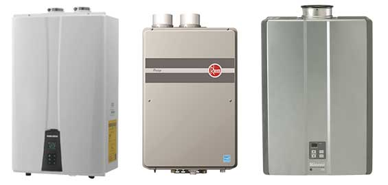 Tankless Water Heater Models